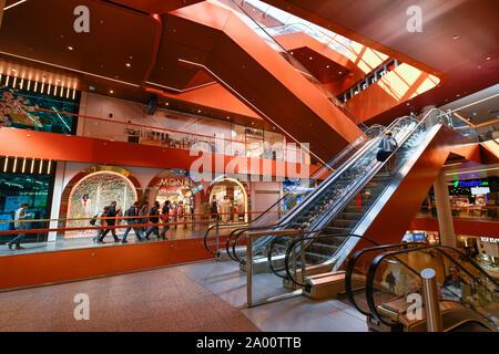 East Side Mall, Tamara-Danz-Strasse, Friedrichshain, Berlin, Deutschland - Stock Photo