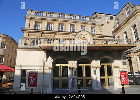 New Theatre Royal, Sawclose, Bath, Somerset, England, Great Britain, United Kingdom, UK, Europe - Stock Photo