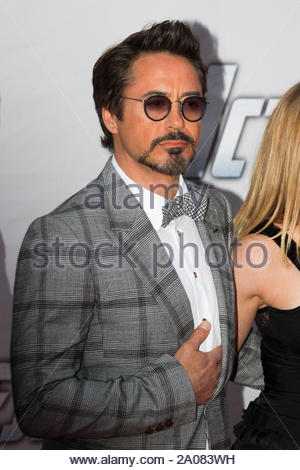 Moscow, Russia - Marvel's The Avengers ensemble cast attending the movie's premiere in Moscow. AKM-GSI April 17, 2012 - Stock Photo