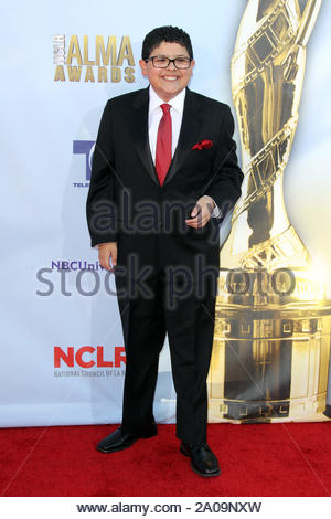 Pasadena, CA - Rico Rodriguez on the red carpet for the 2012 NCLR ALMA Awards at Pasadena Civic Auditorium. AKM-GSI September 16, 2012 - Stock Photo