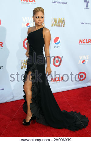 Pasadena, CA - Kat Deluna on the red carpet for the 2012 NCLR ALMA Awards at Pasadena Civic Auditorium. AKM-GSI September 16, 2012 - Stock Photo
