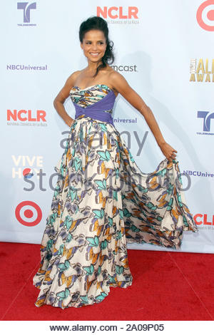 Pasadena, CA - Daphne Wayans on the red carpet for the 2012 NCLR ALMA Awards at Pasadena Civic Auditorium. AKM-GSI September 16, 2012 - Stock Photo