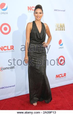 Pasadena, CA - Alejandra Espinoza on the red carpet for the 2012 NCLR ALMA Awards at Pasadena Civic Auditorium. AKM-GSI September 16, 2012 - Stock Photo