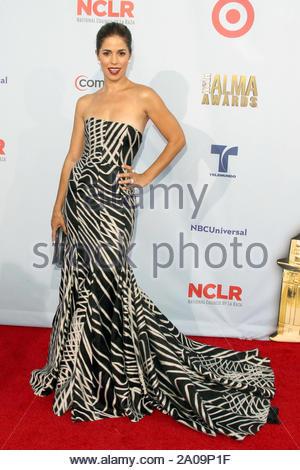 Pasadena, CA - Ana Ortiz on the red carpet for the 2012 NCLR ALMA Awards at Pasadena Civic Auditorium. AKM-GSI September 16, 2012 - Stock Photo