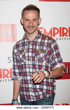 West Hollywood, CA - Dominic Monaghan at the Empire Magazine celebration of Empire U.S. for iPad. AKM-GSI October2 , 2012 - Stock Photo