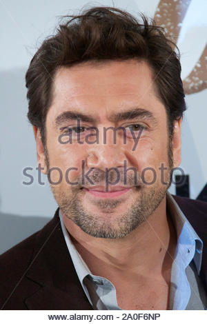 Madrid, Spain - Actor Javier Bardem attends the 'Skyfall' photocall in Madrid, Spain. AKM-GSI October 29, 2012 - Stock Photo