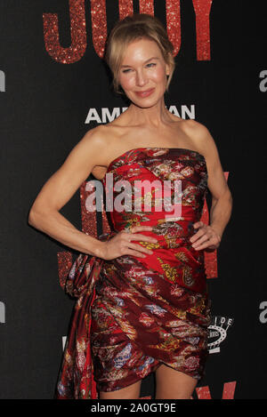Los Angeles, USA. 19th Sep 2019. Renee Zellweger 09/19/2019 The Los Angeles Premiere of 'JUDY' held at the Samuel Goldwyn Theater in Beverly Hills, CA Photo by Izumi Hasegawa/HollywoodNewsWire.co Credit: Hollywood News Wire Inc./Alamy Live News - Stock Photo