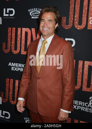 Los Angeles, USA. 19th Sep, 1919. Rupert Goold arrives at the LA Premiere Of Roadside Attraction's 'Judy' at Samuel Goldwyn Theater on September 19, 1919 in Beverly Hills, California. Credit: Tsuni/USA/Alamy Live News - Stock Photo