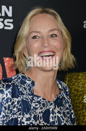 Los Angeles, USA. 19th Sep, 1919. Sharon Stone 053 arrives at the LA Premiere Of Roadside Attraction's 'Judy' at Samuel Goldwyn Theater on September 19, 1919 in Beverly Hills, California. Credit: Tsuni/USA/Alamy Live News - Stock Photo