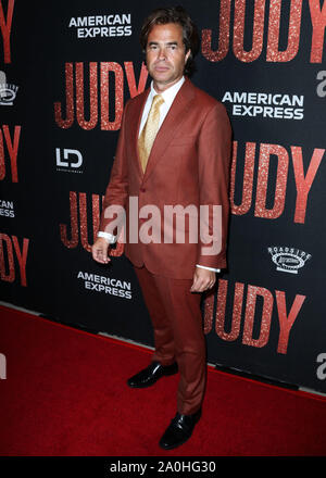 Beverly Hills, United States. 19th Sep, 2019. BEVERLY HILLS, LOS ANGELES, CALIFORNIA, USA - SEPTEMBER 19: Rupert Goold arrives at the Los Angeles Premiere Of Roadside Attraction's 'Judy' held at the Samuel Goldwyn Theater at the Academy of Motion Picture Arts and Sciences on September 19, 2019 in Beverly Hills, Los Angeles, California, United States. (Photo by Xavier Collin/Image Press Agency) Credit: Image Press Agency/Alamy Live News - Stock Photo