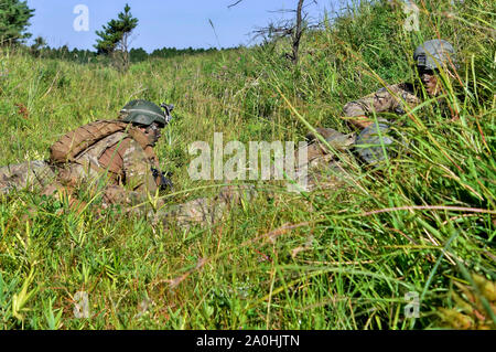 Yamato, Japan. 19th Sep, 2019. US Army soldiers in the United Arab Emirates joint military deployment 'Orient Shield 2019' and Oyanohara military base in Japan. Yamato, 19.09.2019 | usage worldwide Credit: dpa/Alamy Live News - Stock Photo