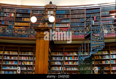 Pictor Reading Room in Liverpool Central Library in the city of Liverpool, England, UK - Stock Photo
