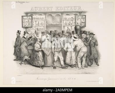 The Publisher Aubert (You must admit the government has a comic appearance),1831.jpg - 2A0MPEM - Stock Photo