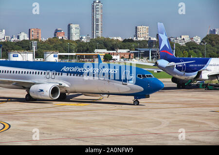 Buenos Aires / Argentina - 04 May 2016: The airport in Buenos Aires, Argentina - Stock Photo