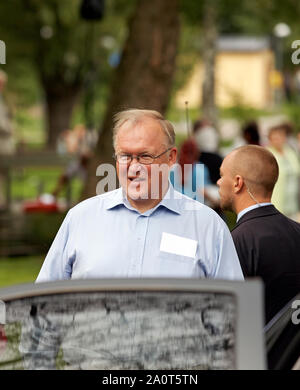 Göran Persson swedish  prime minister 1996 - 2006. Photo: Bo Arrhed - Stock Photo