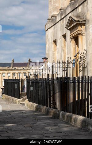No.1 The Royal Crescent, Bath, England - Stock Photo