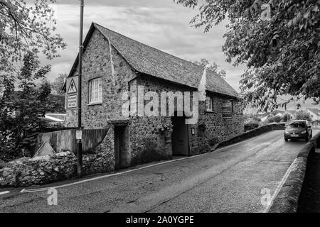 Mill on the bridge, England - Stock Photo