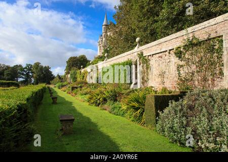 Dunrobin Castle from the castle gardens.