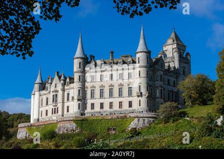 The majestic grandeur of Dunrobin Castlle in Scotland