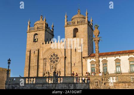 Sé Cathedral Porto Portugal - Stock Photo