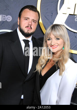 West Hollywood, California, USA. 22nd Sep, 2019. Actor John Bradley attends HBO's Post Emmy Award Reception following 71st Primetime Emmy Awards on September 22, 2019 at The Plaza at the Pacific Design Center in West Hollywood, California, USA. Credit: Barry King/Alamy Live News - Stock Photo