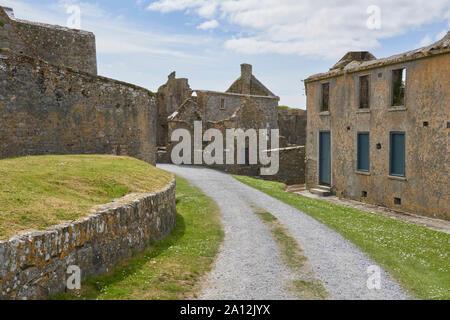Ireland Trip (May 19-29, 2019) Charles Fort Kinsale, County Cork, Ireland - Stock Photo