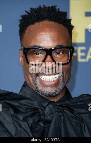 Los Angeles, United States. 22nd Sep, 2019. LOS ANGELES, CALIFORNIA, USA - SEPTEMBER 22: Billy Porter arrives at the Walt Disney Television 2019 EMMY Award Post Party held at Otium on September 22, 2019 in Los Angeles, California, United States. (Photo by David Acosta/Image Press Agency) Credit: Image Press Agency/Alamy Live News - Stock Photo