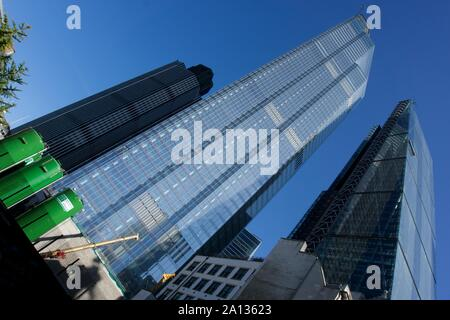 London's ever changing skyline - Stock Photo