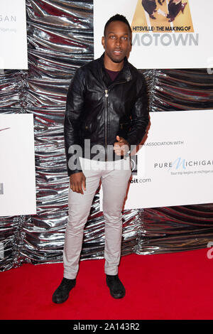 London, UK. 23rd Sep, 2019. LONDON, UK. September 23, 2019: Lemar at the 'Hitsville: The Making of Motown' European premiere at the Odeon Leicester Square, London. Picture: Steve Vas/Featureflash Credit: Paul Smith/Alamy Live News - Stock Photo