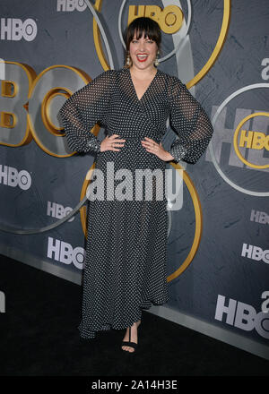 Los Angeles, USA. 22nd Sep, 2019. Kathryn Burns attend HBO's Official 2019 Emmy After Party on September 22, 2019 in Los Angeles, California. Credit: Tsuni/USA/Alamy Live News - Stock Photo