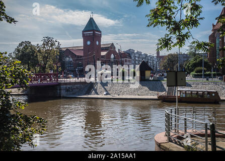 Hala Targowa in Wroclaw, Poland - Stock Photo