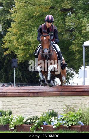 Sarah Bullimore - Reve Du Rouet - Burghley Horse Trials 2019 - Stock Photo