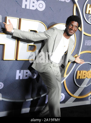 West Hollywood, California, USA 22nd September 2019 An actor attends HBO's Post Emmy Award Reception following 71st Primetime Emmy Awards on September 22, 2019 at The Plaza at the Pacific Design Center in West Hollywood, California, USA. Photo by Barry King/Alamy Stock Photo - Stock Photo