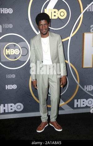West Hollywood, CA. 22nd Sep, 2019. Labrinth at arrivals for HBO Emmy Awards After Party, Pacific Design Center, West Hollywood, CA September 22, 2019. Credit: Priscilla Grant/Everett Collection/Alamy Live News - Stock Photo