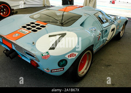 Ford GT 40 Wyer - Stock Photo