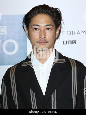 Yosuke Kubozuka, Giri/Haji - Screening, Curzon Bloomsbury, London, UK, 25 September 2019, Photo by Richard Goldschmidt - Stock Photo