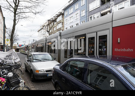 Düsseldorf, Stadtbahn - Stock Photo