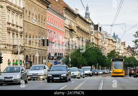 Oktogon. Budapest, Hungary - Stock Photo