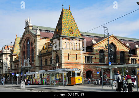 Great Central Market. Budapest, Hungary - Stock Photo