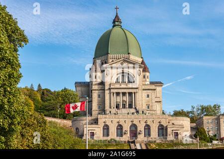 montreal, CA - 19 September 2019: Saint Joseph's Oratory - Stock Photo