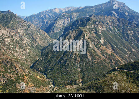 Landscape in Kings Canyon, California - Stock Photo