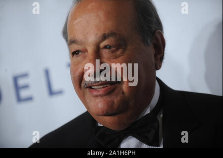 Manhattan, United States Of America. 09th Oct, 2014. NEW YORK, NY - OCTOBER 07: Andrew Cuomo attends the Friars Foundation Gala honoring Robert De Niro and Carlos Slim at The Waldorf Astoria on October 7, 2014 in New York City People: Carlos Slim Credit: Storms Media Group/Alamy Live News - Stock Photo