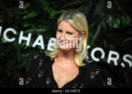 Manhattan, United States Of America. 17th Oct, 2017. NEW YORK, NY - OCTOBER 16: Sandra Lee attends the 11th Annual God's Love We Deliver Golden Heart Awards at Spring Studios on October 16, 2017 in New York City. People: Sandra Lee Credit: Storms Media Group/Alamy Live News - Stock Photo