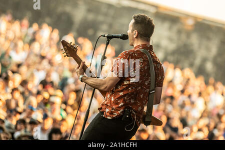 Performances from the final day of Victorious Festival 2019 Featuring: Ash Where: Portsmouth, United Kingdom When: 25 Aug 2019 Credit: WENN.com - Stock Photo