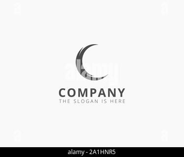 letter C logo vector icon template - Stock Photo