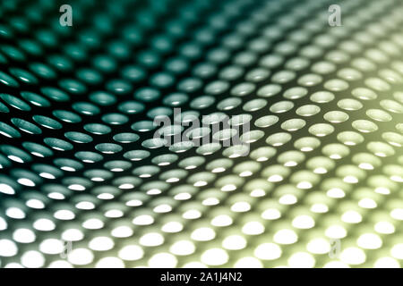 Metal sheet background in green. - Stock Photo