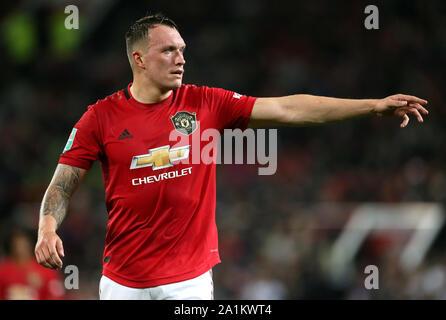 Manchester United's Phil Jones - Stock Photo