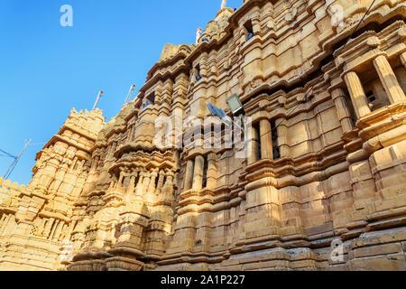 Jain Temples in Jaisalmer fort. Rajasthan. India