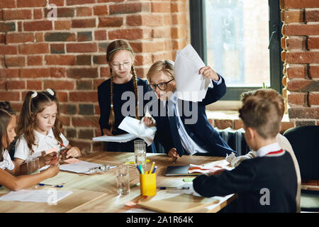 team has failed the business, depression concept, close up photo. - Stock Photo