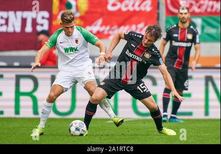 FC Augsburg TICKET BL 2016//17 Bayer 04 Leverkusen